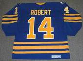 RENE ROBERT Buffalo Sabres 1978 CCM Vintage Throwback Away NHL Hockey Jersey