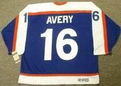 SEAN AVERY New York Rangers 1970's Vintage Throwback NHL Hockey Jersey