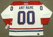 "MONTREAL CANADIENS 1980's CCM Throwback Home Jersey Customized ""Any Name & Number(s)"""