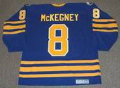 TONY McKEGNEY Buffalo Sabres 1980 CCM Vintage Throwback NHL Hockey Jersey