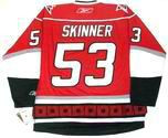JEFF SKINNER Carolina Hurricanes REEBOK Premier Home NHL Jersey
