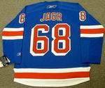 JAROMIR JAGR New York Rangers 2008 REEBOK RBK Premier Home Hockey Jersey