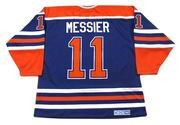 MARK MESSIER Edmonton Oilers 1990 CCM Vintage Throwback Away NHL Hockey Jersey