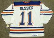 MARK MESSIER Edmonton Oilers 1990 CCM Vintage Throwback Home NHL Jersey