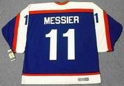 MARK MESSIER New York Rangers 2003 CCM Vintage Throwback NHL Hockey Jersey
