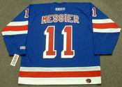 MARK MESSIER New York Rangers 2004 CCM Throwback Away NHL Jersey