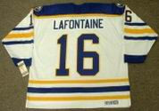 PAT LAFONTAINE Buffalo Sabres 1992 CCM Vintage Throwback Home Hockey Jersey