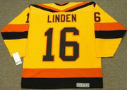 TREVOR LINDEN Vancouver Canucks 1989 CCM Vintage Throwback Home Hockey Jersey