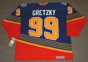 WAYNE GRETZKY St. Louis Blues 1996 CCM Vintage Throwback NHL Jersey