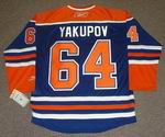 NAIL YAKUPOV Edmonton Oilers REEBOK Home NHL Hockey Jersey