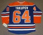NAIL YAKUPOV Edmonton Oilers REEBOK Home NHL Hockey Jersey