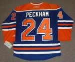 THEO PECKHAM Edmonton Oilers REEBOK Home NHL Hockey Jersey