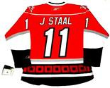 JORDAN STAAL Carolina Hurricanes REEBOK Premier Home NHL Jersey