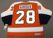 CLAUDE GIROUX Philadelphia Flyers 1970&#039;s CCM Vintage Throwback NHL Hockey Jersey