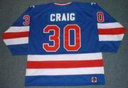 JIM CRAIG 1980 USA Olympic Away Hockey Jersey