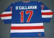 JACK O'CALLAHAN 1980 USA Olympic Away Hockey Jersey