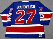 FRANK MAHOVLICH Toronto Toros 1974 WHA Throwback Hockey Jersey