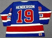 PAUL HENDERSON Toronto Toros 1974 WHA Throwback Hockey Jersey