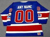 "TORONTO TOROS 1970's WHA Throwback Hockey Jersey Customized ""Any Name & Number(s)"""