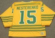 ERIC NESTERENKO Chicago Cougars 1974 WHA Throwback Hockey Jersey
