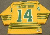 RALPH BACKSTROM Chicago Cougars 1973 WHA Throwback Hockey Jersey
