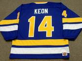 DAVE KEON Minnesota Fighting Saints 1975 WHA Throwback Hockey Jersey