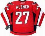 KARL ALZNER Washington Capitals REEBOK Premier Home NHL Hockey Jersey