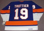 BRYAN TROTTIER New York Islanders &quot;Rookie&quot; 1975 CCM Vintage Throwback Jersey