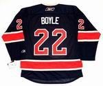 BRIAN BOYLE New York Rangers REEBOK Alternate Home NHL Hockey Jersey