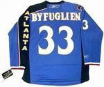 DUSTIN BYFUGLIEN Atlanta Thrashers 2010 REEBOK Home NHL Hockey Jersey