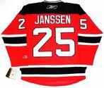 CAM JANSSEN New Jersey Devils Reebok Premier Home NHL Hockey Jersey