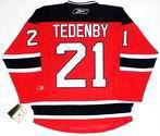 MATTIAS TEDENBY New Jersey Devils Reebok Premier Home NHL Hockey Jersey