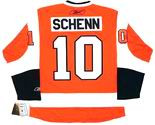 BRAYDEN SCHENN Philadelphia Flyers REEBOK Home NHL Hockey Jersey
