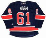 RICK NASH New York Rangers REEBOK Alternate Home NHL Hockey Jersey