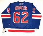 CARL HAGELIN New York Rangers REEBOK Premier Home NHL Hockey Jersey