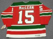 JOHN MacLEAN New Jersey Devils 1988 CCM Vintage Throwback NHL Hockey Jersey