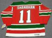 BRENDAN SHANAHAN New Jersey Devils 1988 CCM Vintage Throwback NHL Hockey Jersey