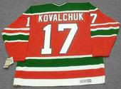 ILYA KOVALCHUK New Jersey Devils 1980's CCM Vintage Throwback NHL Hockey Jersey