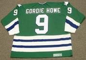 GORDIE HOWE Hartford Whalers 1979 CCM Vintage Throwback NHL Hockey Jersey