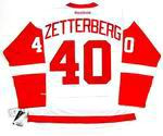 HENRIK ZETTERBERG Detroit Red Wings REEBOK Away NHL Hockey Jersey