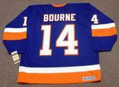BOB BOURNE New York Islanders 1982 CCM Vintage Throwback NHL Hockey Jersey