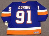 BUTCH GORING New York Islanders 1982 CCM Vintage Throwback NHL Hockey Jersey