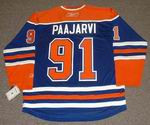 MAGNUS PAAJARVI Edmonton Oilers REEBOK Home NHL Hockey Jersey