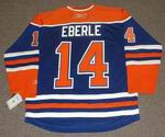 JORDAN EBERLE Edmonton Oilers REEBOK Home NHL Hockey Jersey