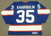 NIKOLAI KHABIBULIN Winnipeg Jets 1995 CCM Vintage Throwback Away NHL Hockey Jersey