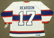 KEN REARDON Montreal Canadiens 1946 CCM Vintage Throwback NHL Jersey
