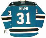 ANTTI NIEMI San Jose Sharks REEBOK Home NHL Hockey Jersey