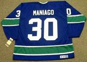 CESARE MANIAGO Vancouver Canucks 1976 CCM Vintage Throwback NHL Hockey Jersey