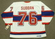 P.K. SUBBAN Montreal Canadiens 1946 CCM Vintage Throwback NHL Hockey Jersey