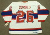 JOSH GORGES Montreal Canadiens 1946 CCM Vintage Throwback NHL Hockey Jersey